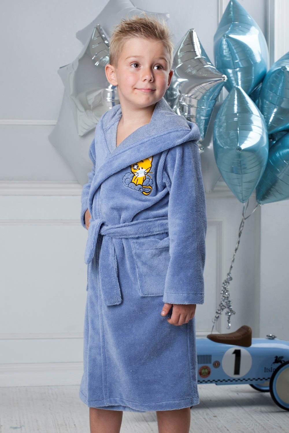 Детские халаты Five Wien Детский халат Малыш Цвет: Голубой (6-8 лет) халаты домашние лори халат