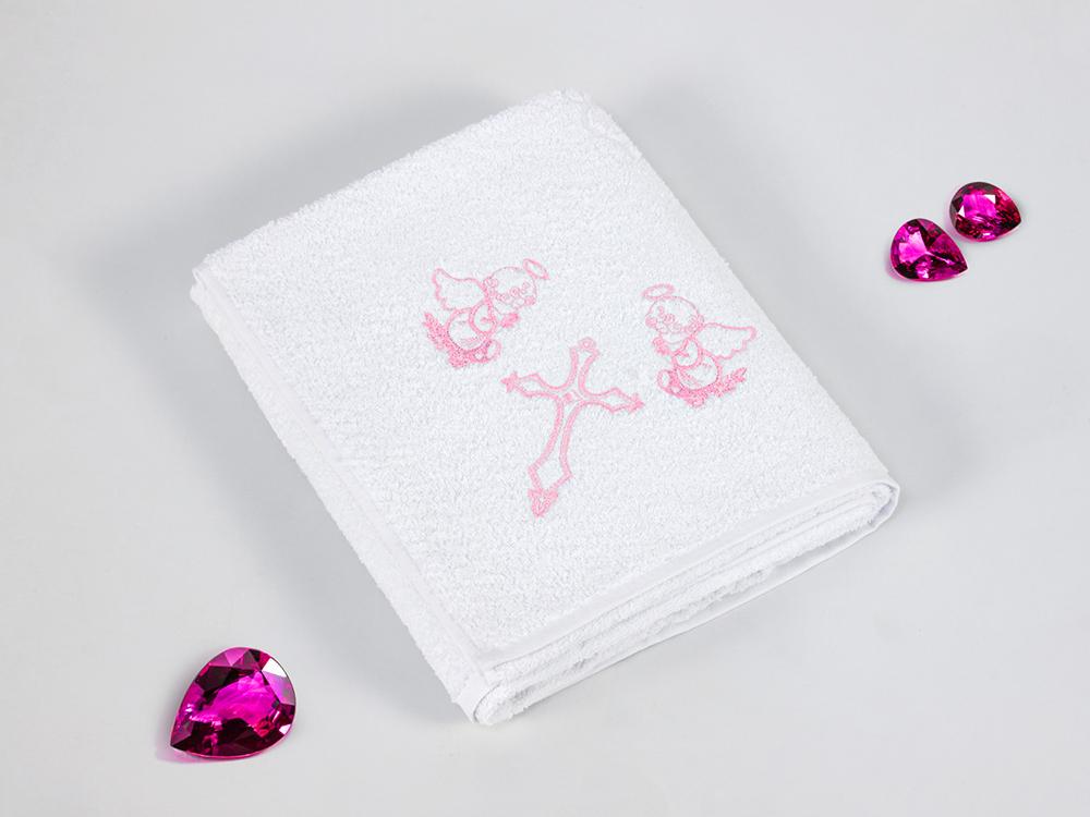 Полотенца Gulcan Детское полотенце Ангелочек Цвет: Розовый (100х100 см) bravo полотенце детское пони 33 x 70 см 1089