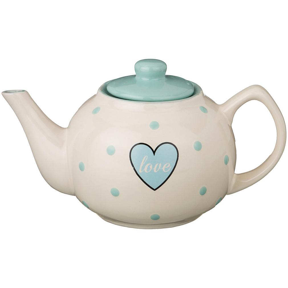{} Agness Заварочный чайник Love (860 мл)