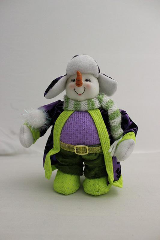 {}  Кукла Снеговик (25 см) кукла весна 35 см