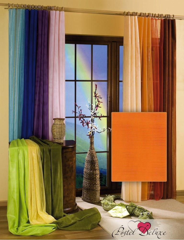 Шторы Wisan Классическиешторы NidaleeЦвет: Оранжевый комплект штор для кухни wisan celina на ленте цвет белый оранжевый высота 180 см