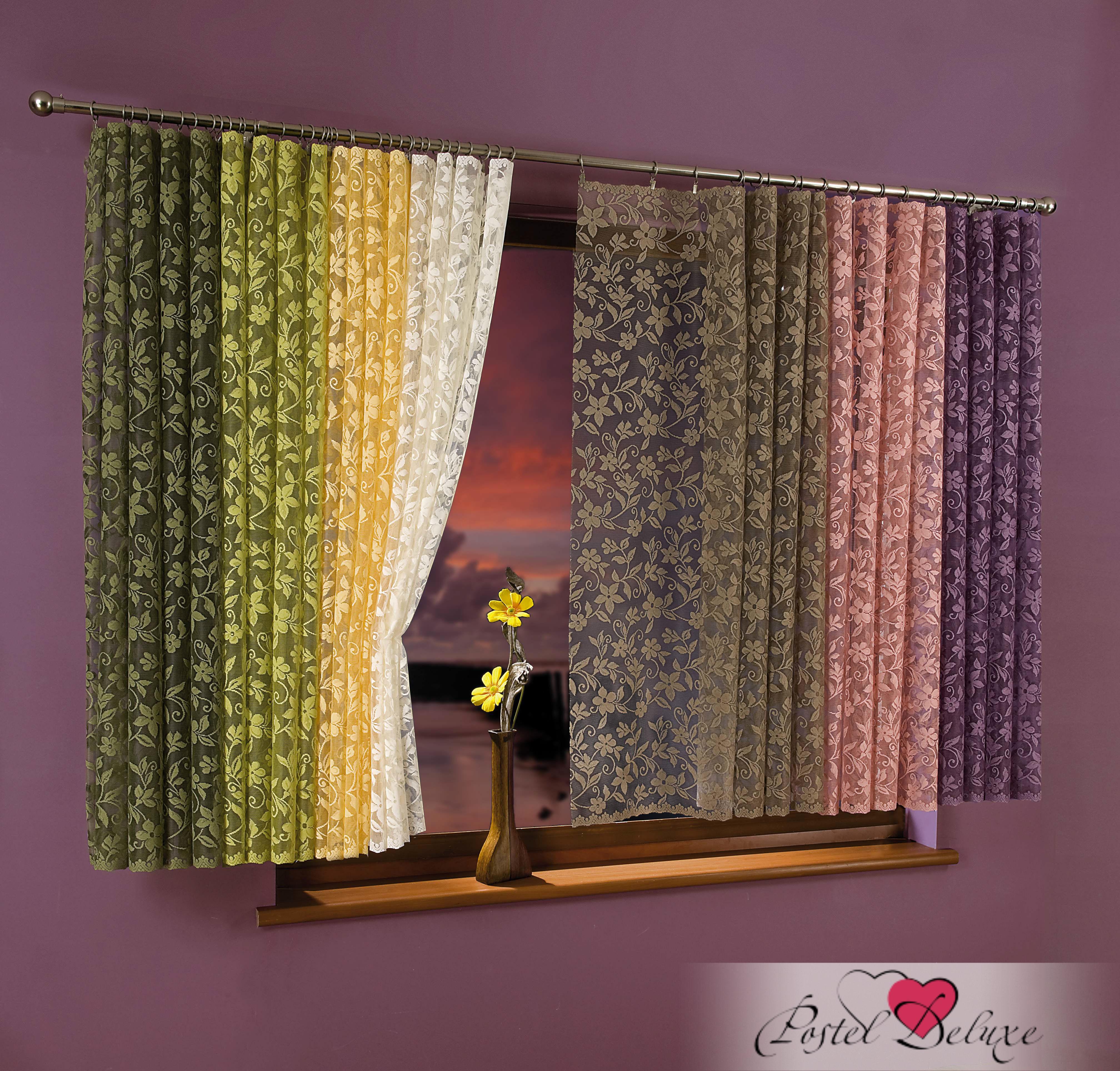 Шторы Wisan Классическиешторы TristanaЦвет: Розовый шторы tac классические шторы глянец цвет портьер розовый цвет тюля белый с бежевой полоской