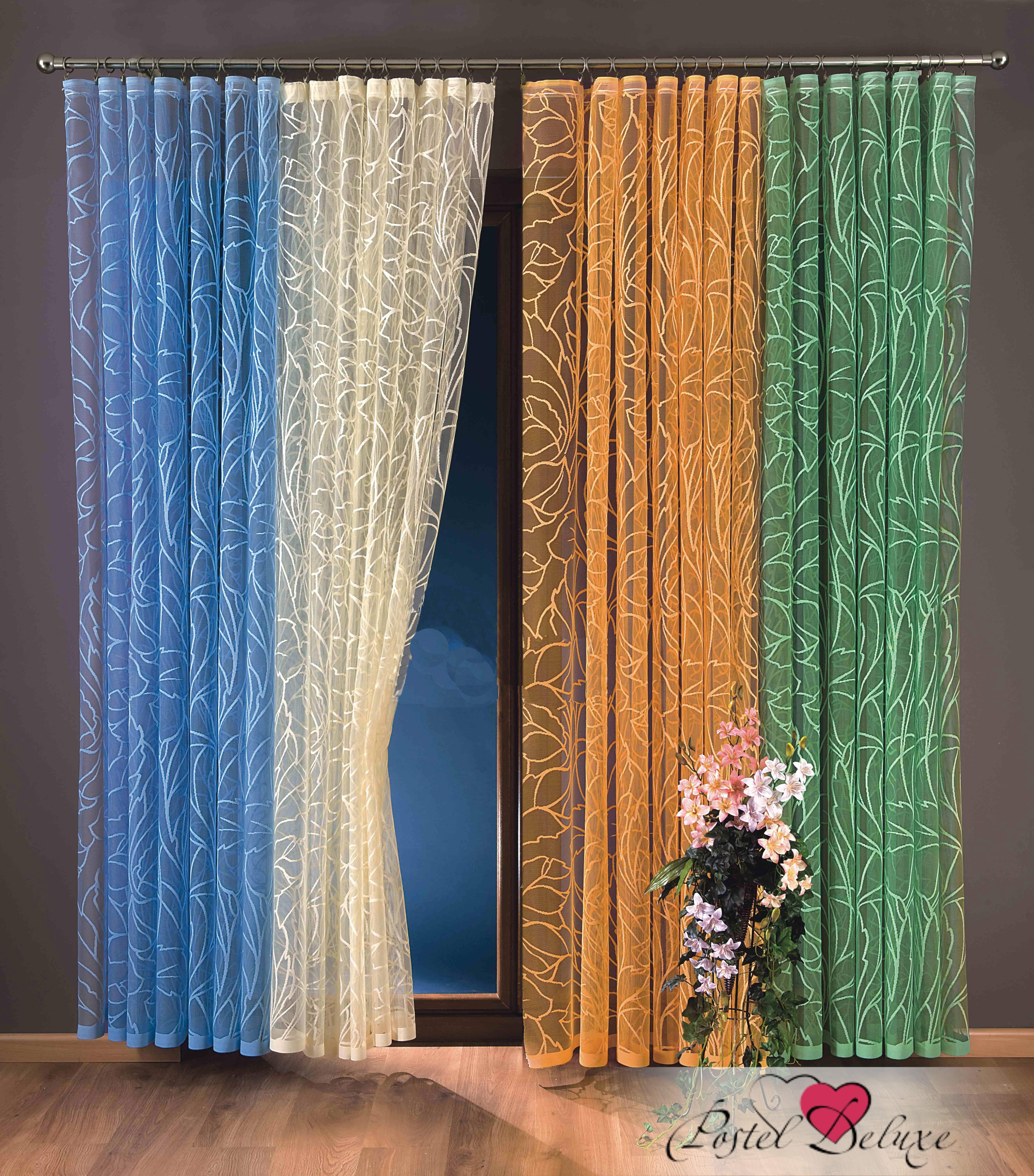Шторы Wisan Классические шторыDianaЦвет: Зеленый шторы wisan классические шторы гражиана цвет золотистый