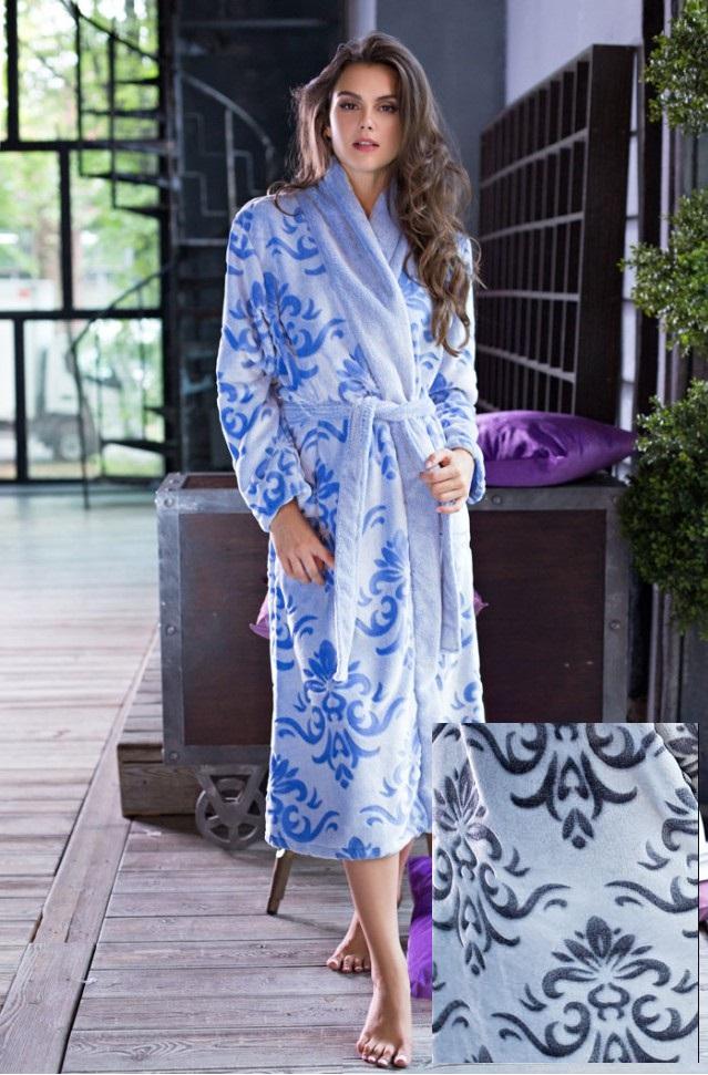 Сауны, бани и оборудование Mia-Mia Халат Tonia Цвет: Серый (M) домашние халаты mia mia домашний халат yesenia xl