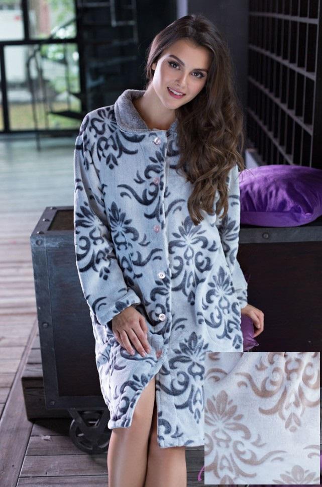 Сауны, бани и оборудование Mia-Mia Халат Tonia Цвет: Бежевый (S) домашние халаты mia mia домашний халат yesenia xl