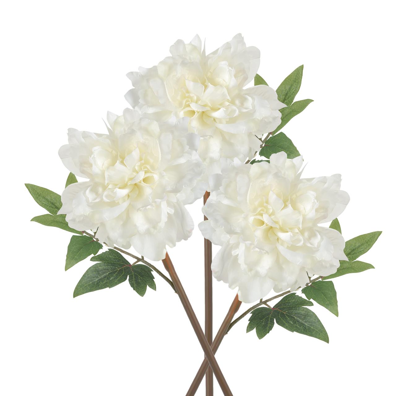 {} ARTEVALUCE Искусственный цветок Пион (13х20х36 см - 3 шт) всесезонная шина matador mps 125 variant all weather 185 75 r16 104 102r