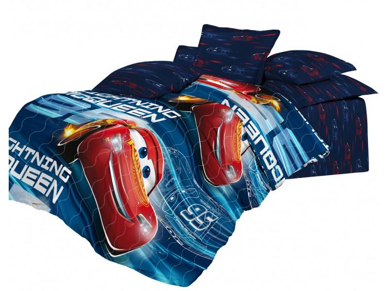 Детские покрывала, подушки, одеяла Непоседа Детское покрывало Молния (145х200 см) покрывало детское непоседа непоседа покрывало star wars стеганое чубакка