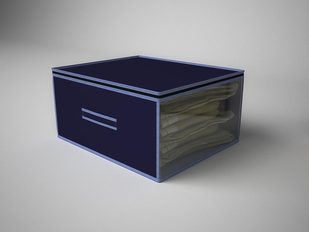 {} CoFreT Кофр для хранения Классик Цвет: Синий (30х50х60 см) кофр стеллажный для хранения вещей valiant vintage 2 секции 50 x 30 x 20 см