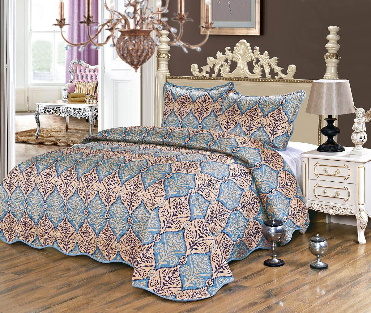 Покрывало Karna Покрывало Gretal Sultan (230х250 см) покрывало karna покрывало evony цвет пудра 240х260 см