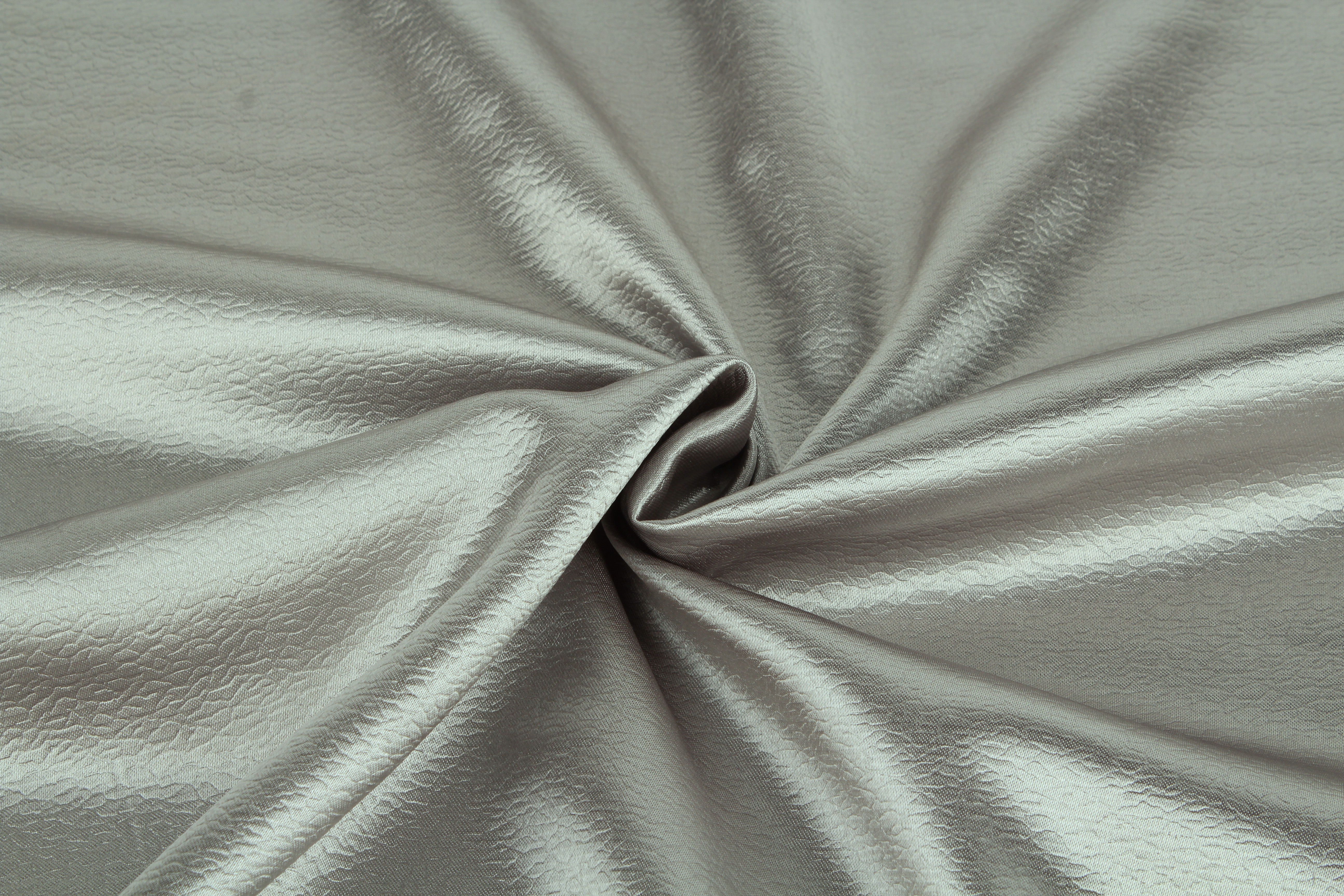 {} TexRepublic Материал Сатен Silk Цвет: Серый texrepublic материал бархат wet silk цвет брусника