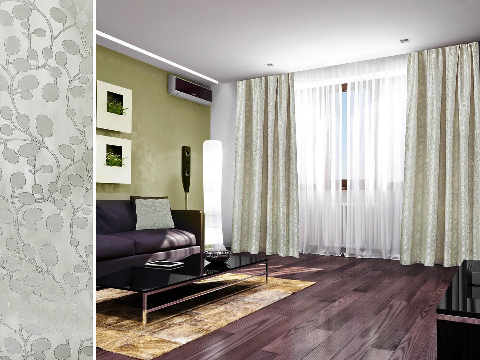 Шторы Primavelle Классические шторы Livia Цвет: Перламутровый шторы tac классические шторы winx цвет персиковый 200x265 см