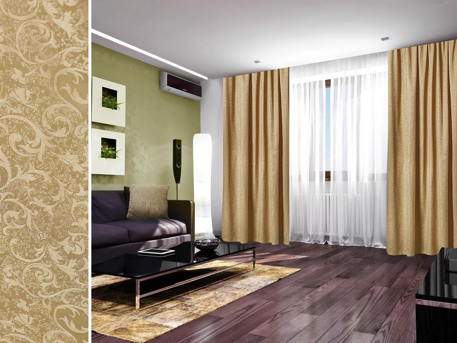 Шторы Primavelle Классические шторы Irmina Цвет: Оливковый шторы tac классические шторы winx цвет персиковый 200x265 см