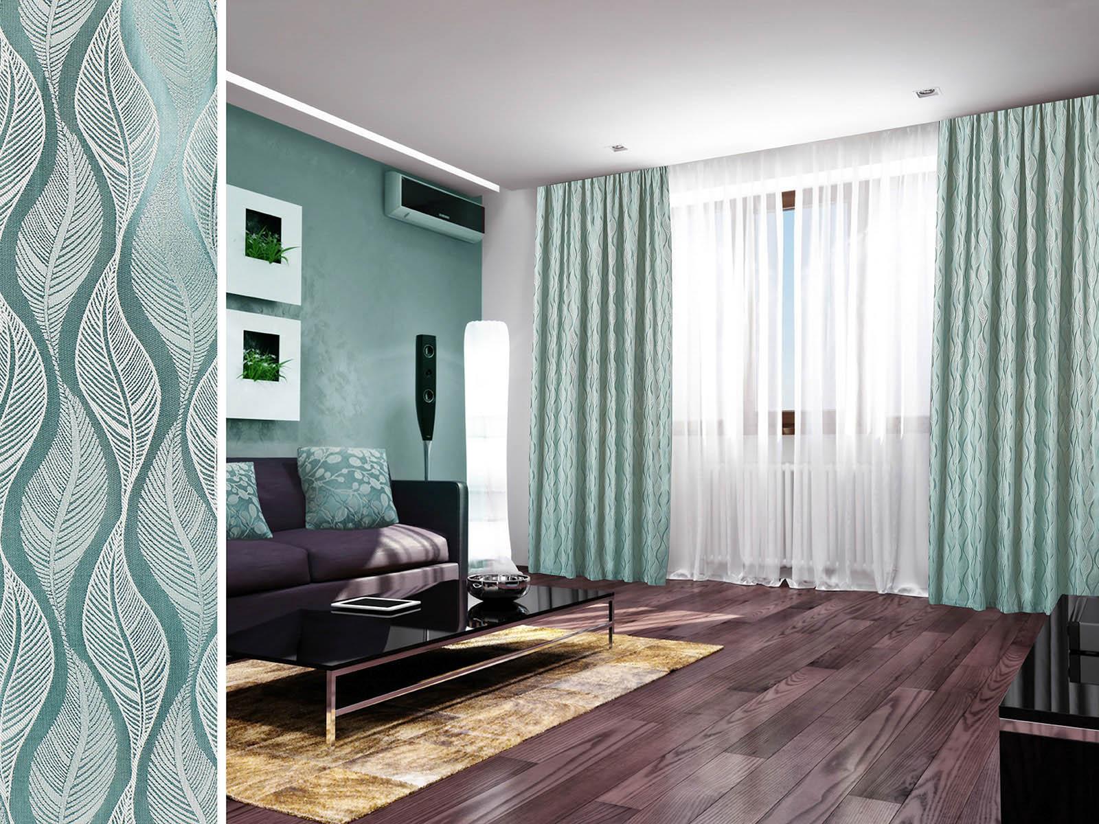 Шторы Primavelle Классические шторы Livia Цвет: Бирюзовый шторы tac классические шторы winx цвет персиковый 200x265 см