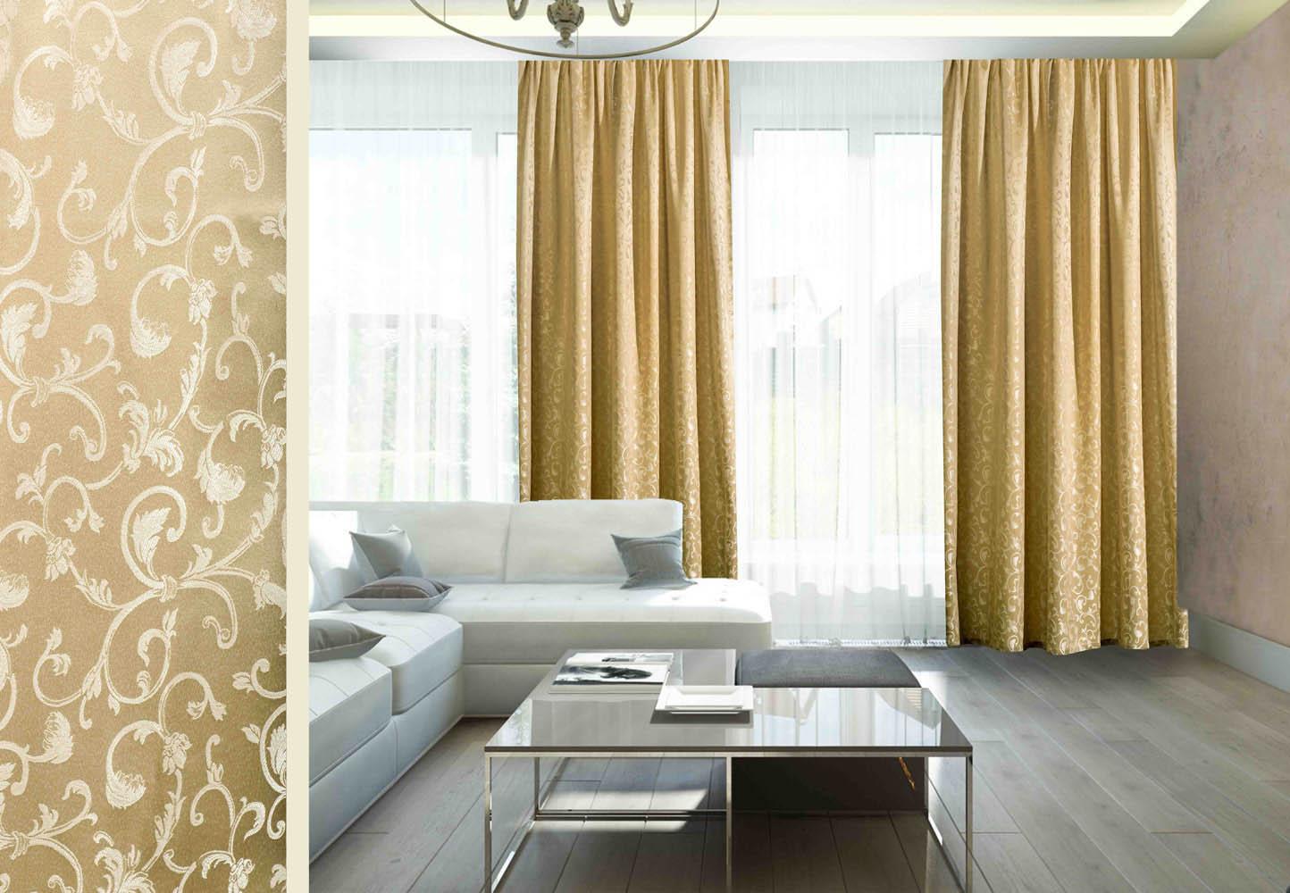 Шторы Primavelle Классические шторы Betta Цвет: Темно-Бежевый шторы tac классические шторы winx цвет персиковый 200x265 см