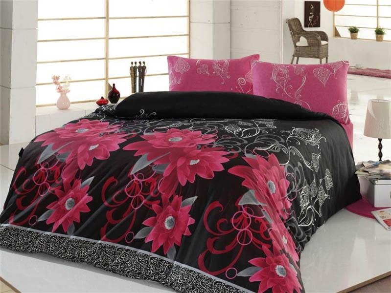 Постельное белье Cotton Life Постельное белье Casablanca Цвет: Розовый (семейное) cotton life постельное белье patchwork цвет красный 1 5 спал