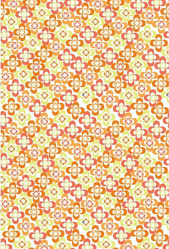 Скатерти и салфетки StickButik Скатерть Апельсиновые Цветы (120х120 см) скатерти и салфетки подушкино скатерть henna 140х180 см