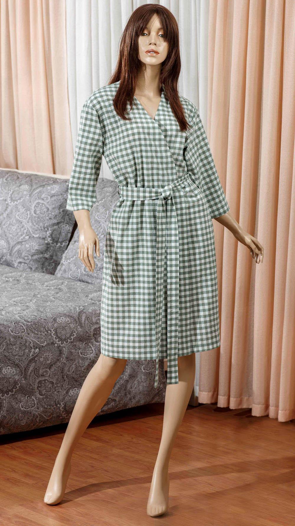 Домашние халаты Primavelle Домашний халат Vera Цвет: Зеленый (M-L) домашние халаты vivien домашний халат funny l