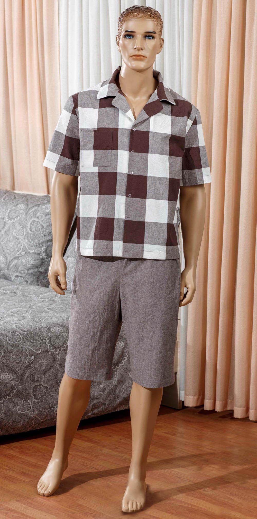 комплект мужской primavelle m diego Брюки Primavelle Одежда для дома Boris Цвет: Коричневый (M)