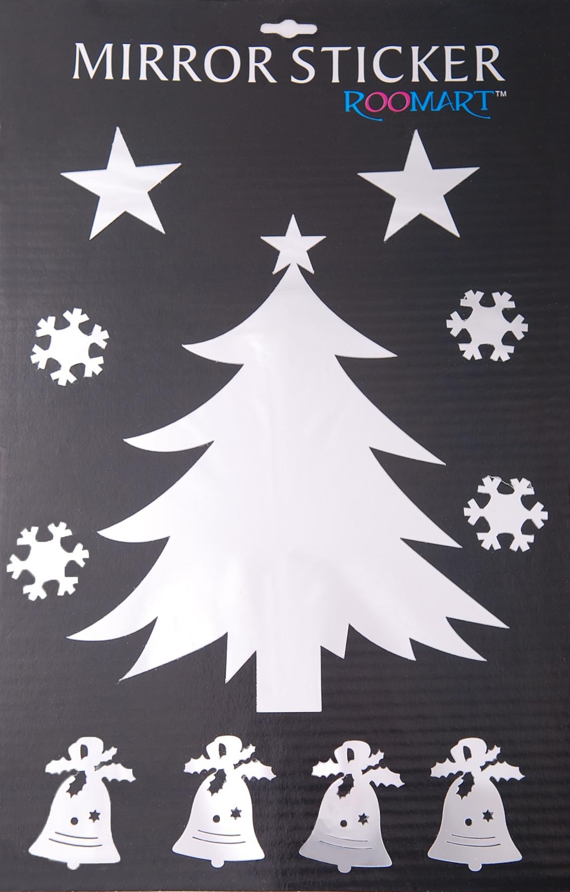 {} HomeDeco Наклейка интерьерная Новогодние Игрушки (30х40 см) ирина вязова новогодние игрушки