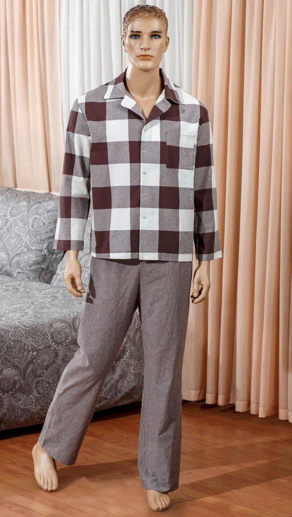 комплект мужской primavelle m diego Футболки Primavelle Одежда для дома Boris Цвет: Коричневый (M)