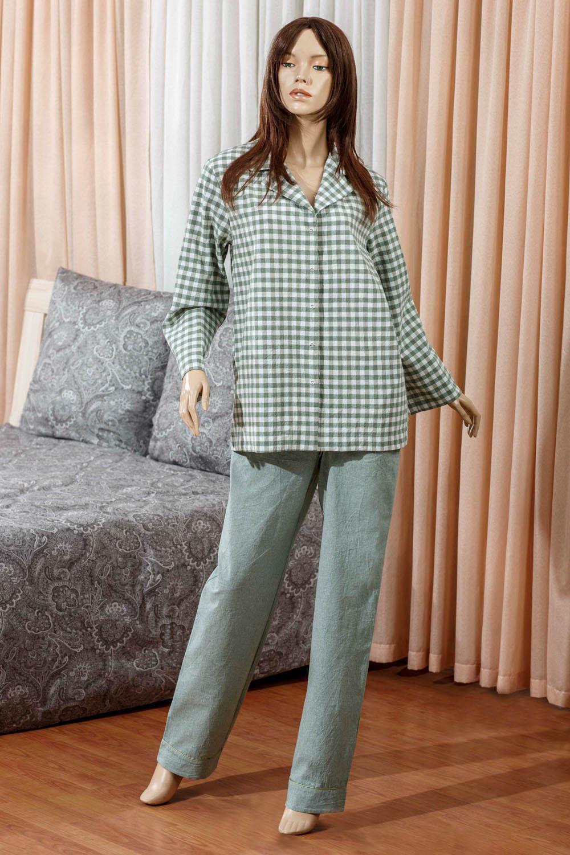 Ночные сорочки Primavelle Ночная сорочка Vera Цвет: Зеленый (M-L) футболки primavelle одежда для дома vera цвет зеленый m l