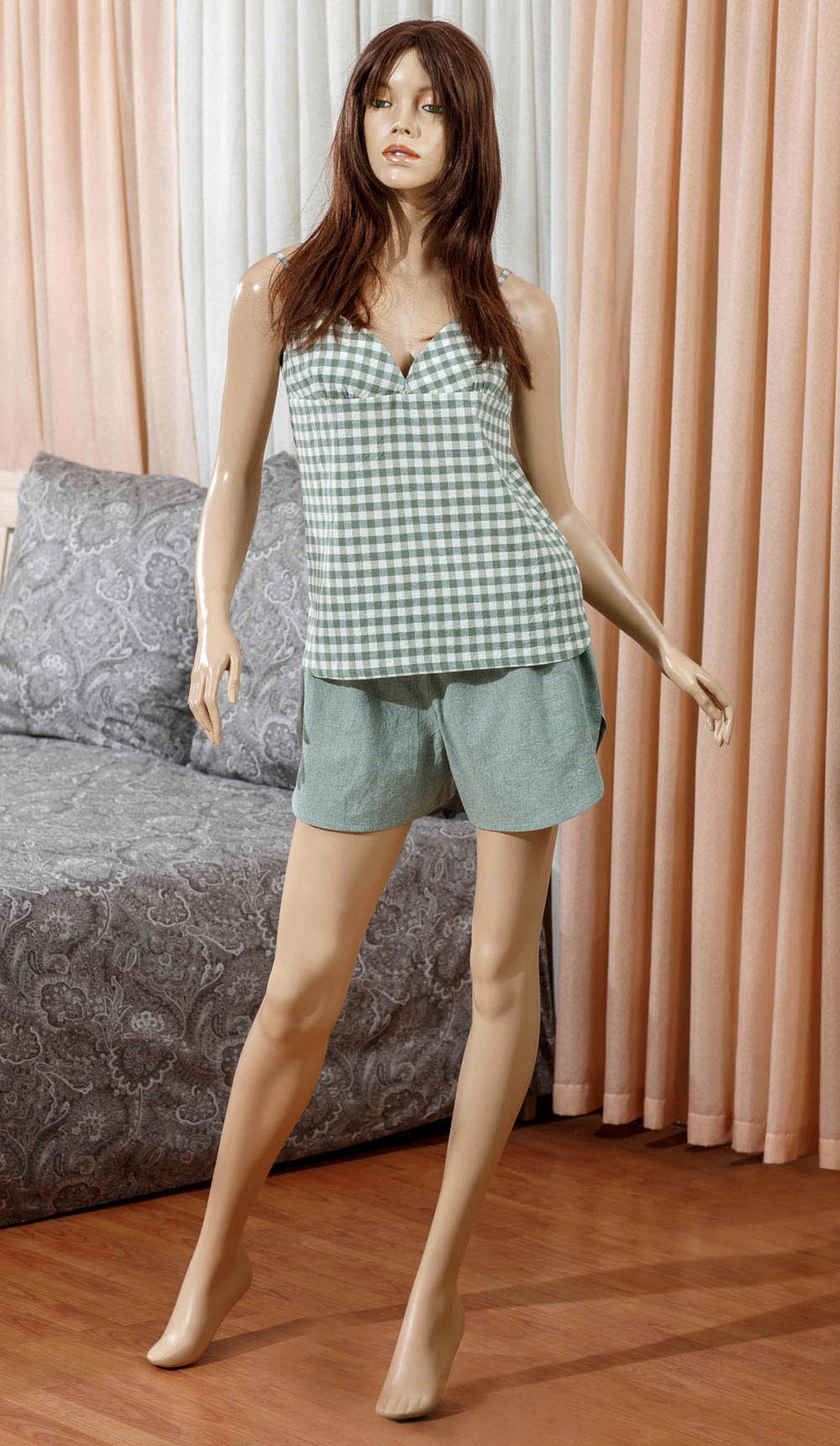 Футболки Primavelle Одежда для дома Vera Цвет: Зеленый (M-L) футболки primavelle одежда для дома vera цвет зеленый m l