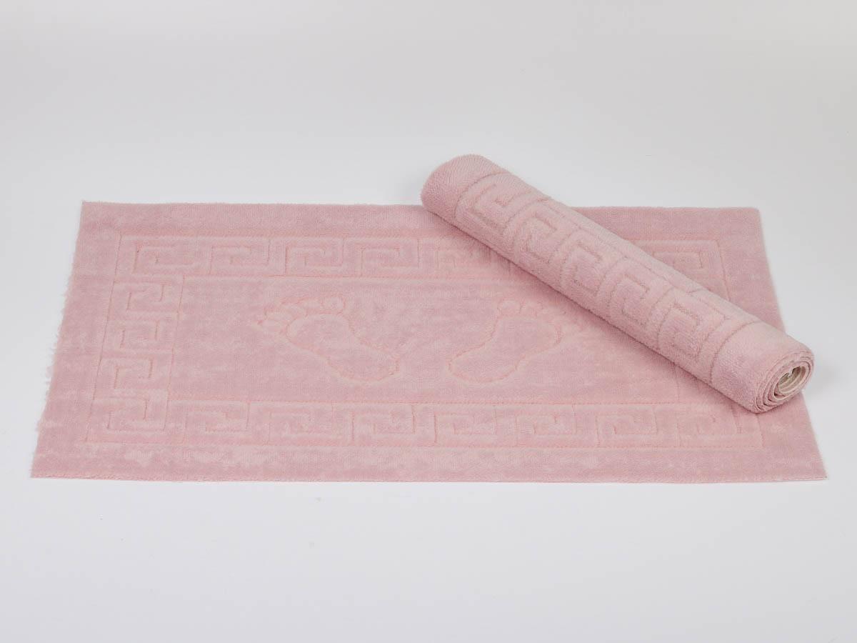 Аксессуары для ванной и туалета Karna Коврик для ванной Likya Цвет: Грязно-Розовый (50х70 см) аксессуары для ванной и туалета