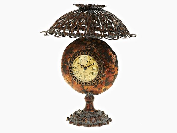 {} ENS GROUP Часы Лампа (24х24х31 см) фруктовница ens group нарцисс 2 ярусная высота 24 см