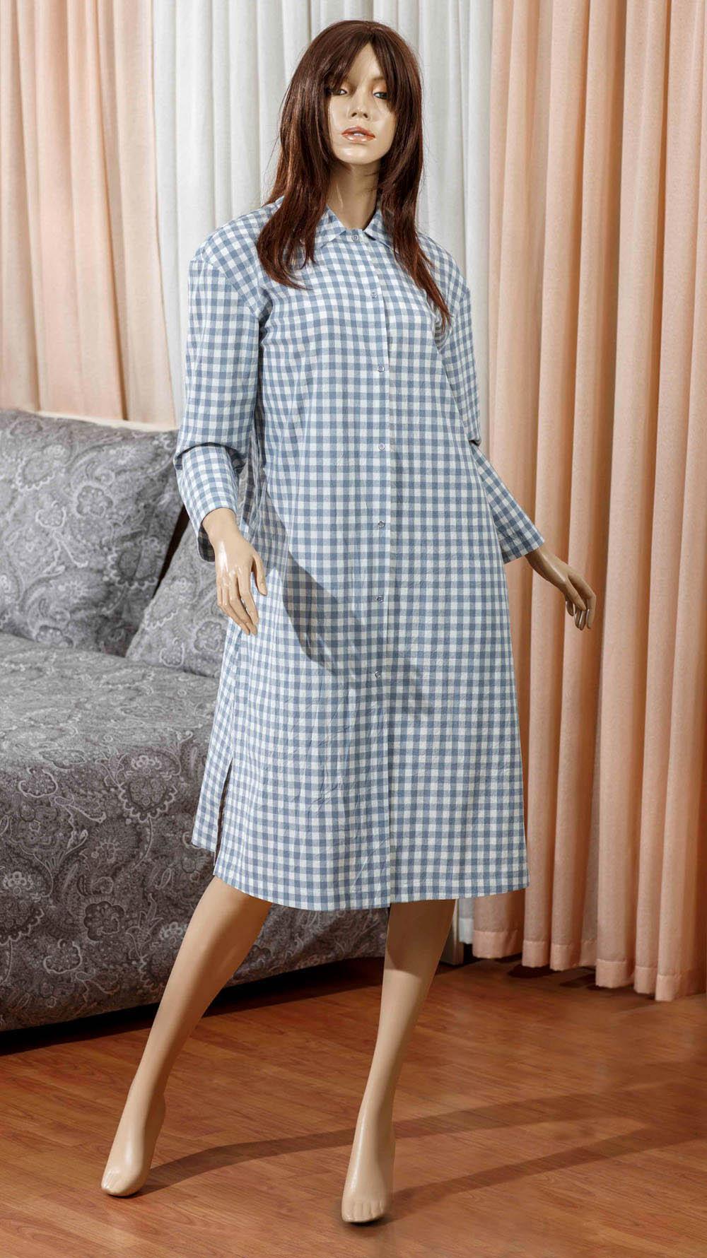 Домашние халаты Primavelle Домашний халат Vera Цвет: Голубой (S-M) купить шелковый халат мужской спб