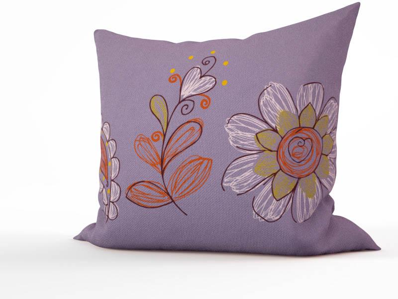 Декоративные подушки StickButik Декоративная подушка Ботанический Сад (45х45) подушка на стул арти м райский сад