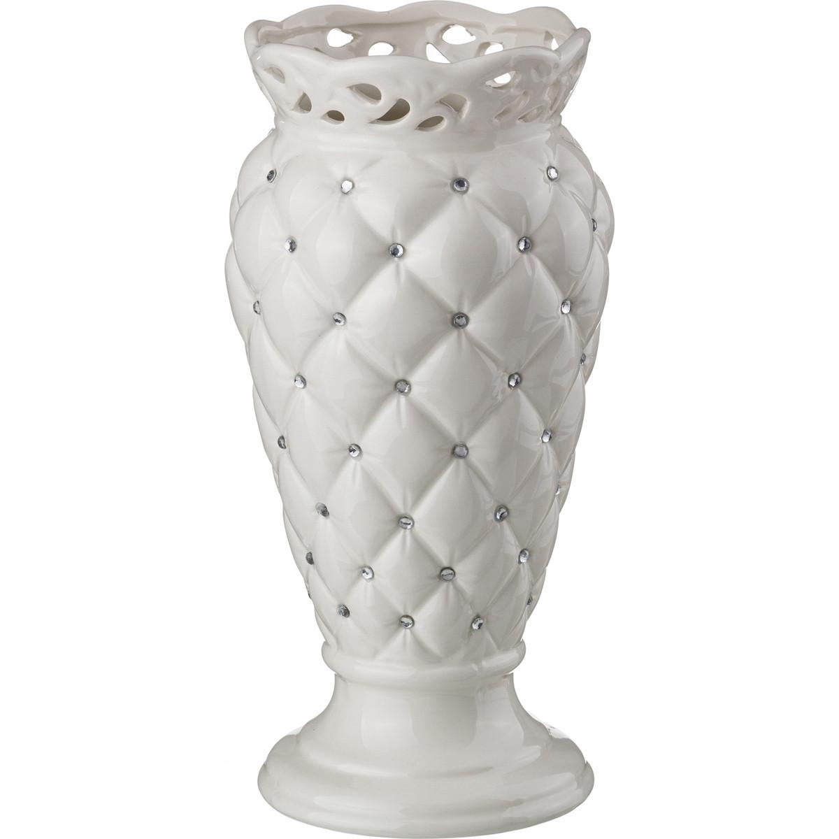 {} Lefard Ваза Adreea  (11х11х26 см) ваза кружева цветов 26 см