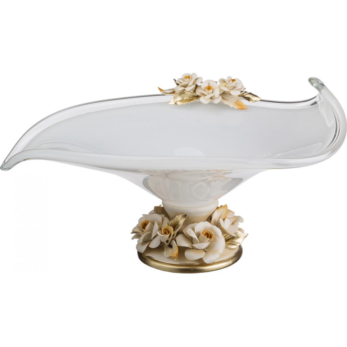 {} WHITE CRISTAL Ваза Garrick (20х32х38 см) ваза mughal l 20 х 20 х 30 см