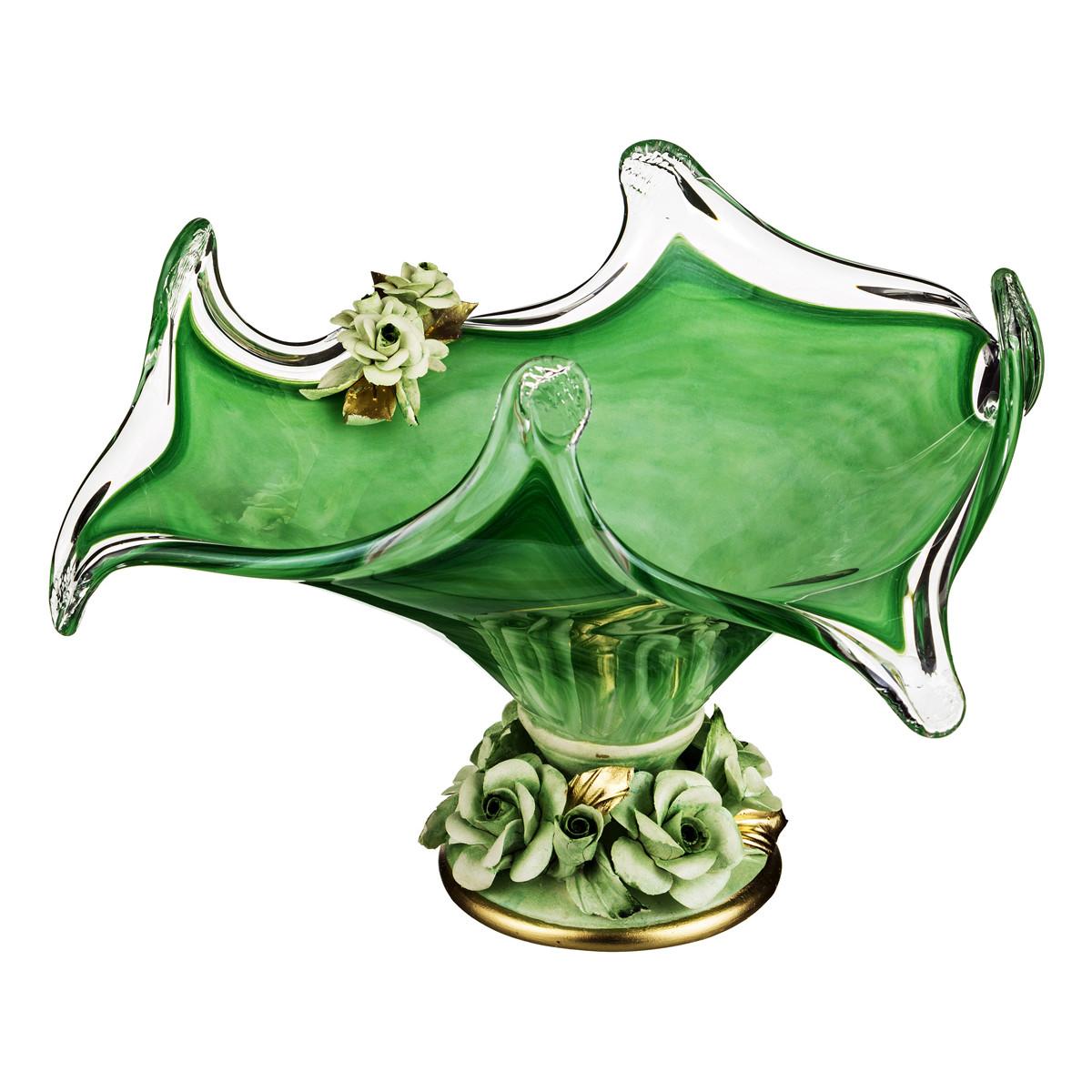 {} WHITE CRISTAL Ваза Nolene (22х38х38 см) ваза 26 х 22 х 30 см
