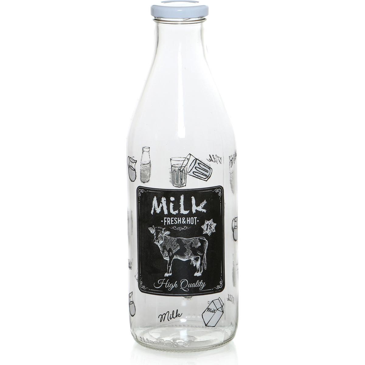 {} Cerve Бутылка для молока Lorrie  (1000 мл) салатница cerve любимый кофе цвет прозрачный красный 690 мл