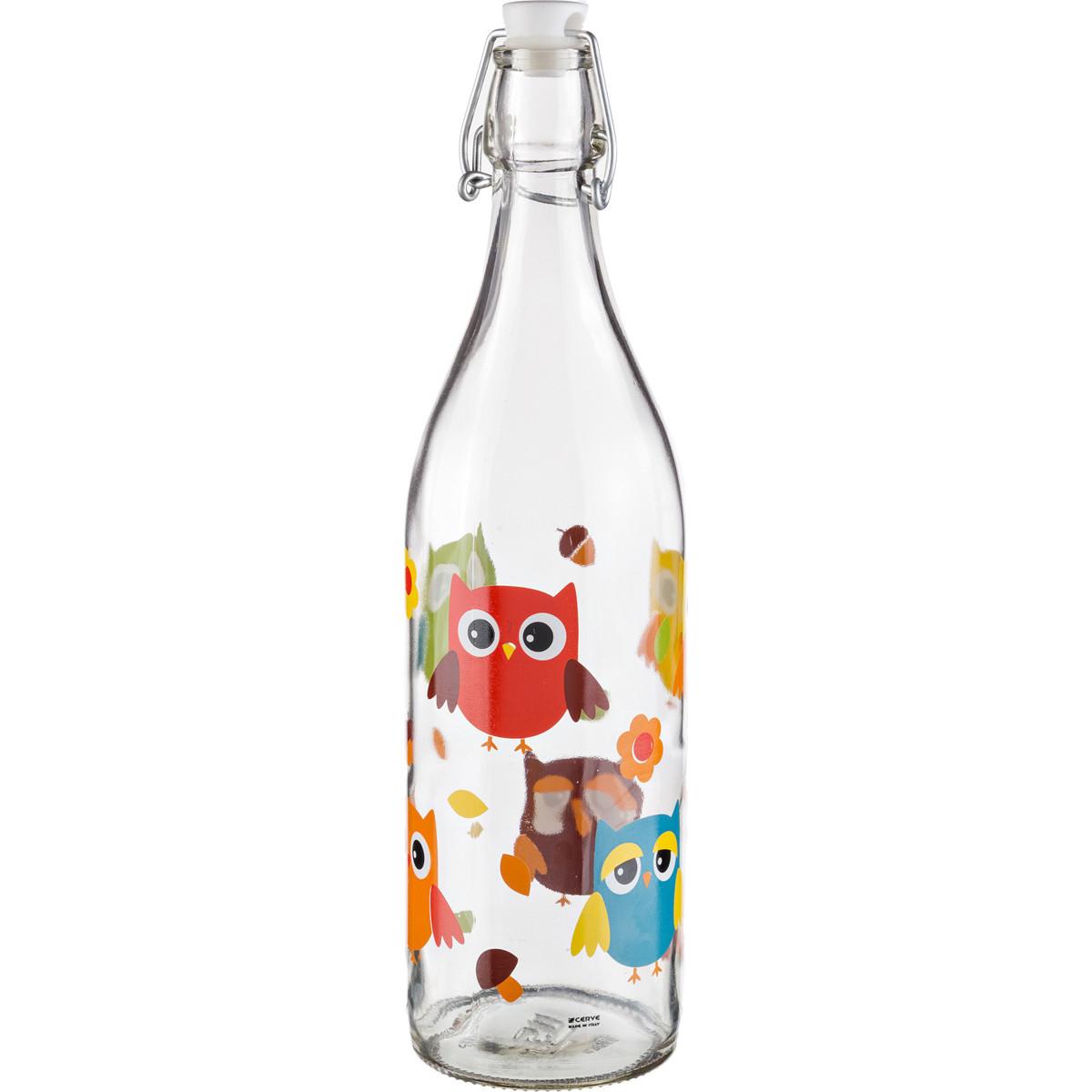 {} Cerve Бутылка для молока Tabatha  (1000 мл) салатница cerve любимый кофе цвет прозрачный красный 690 мл