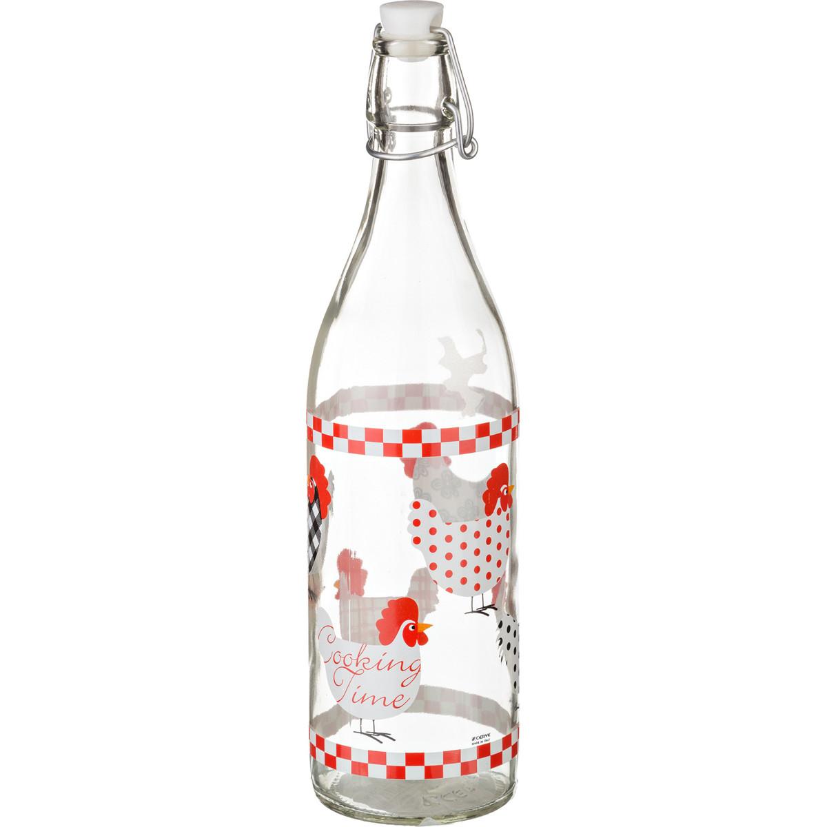 {} Cerve Бутылка для молока Merlyn  (1000 мл) салатница cerve любимый кофе цвет прозрачный красный 690 мл