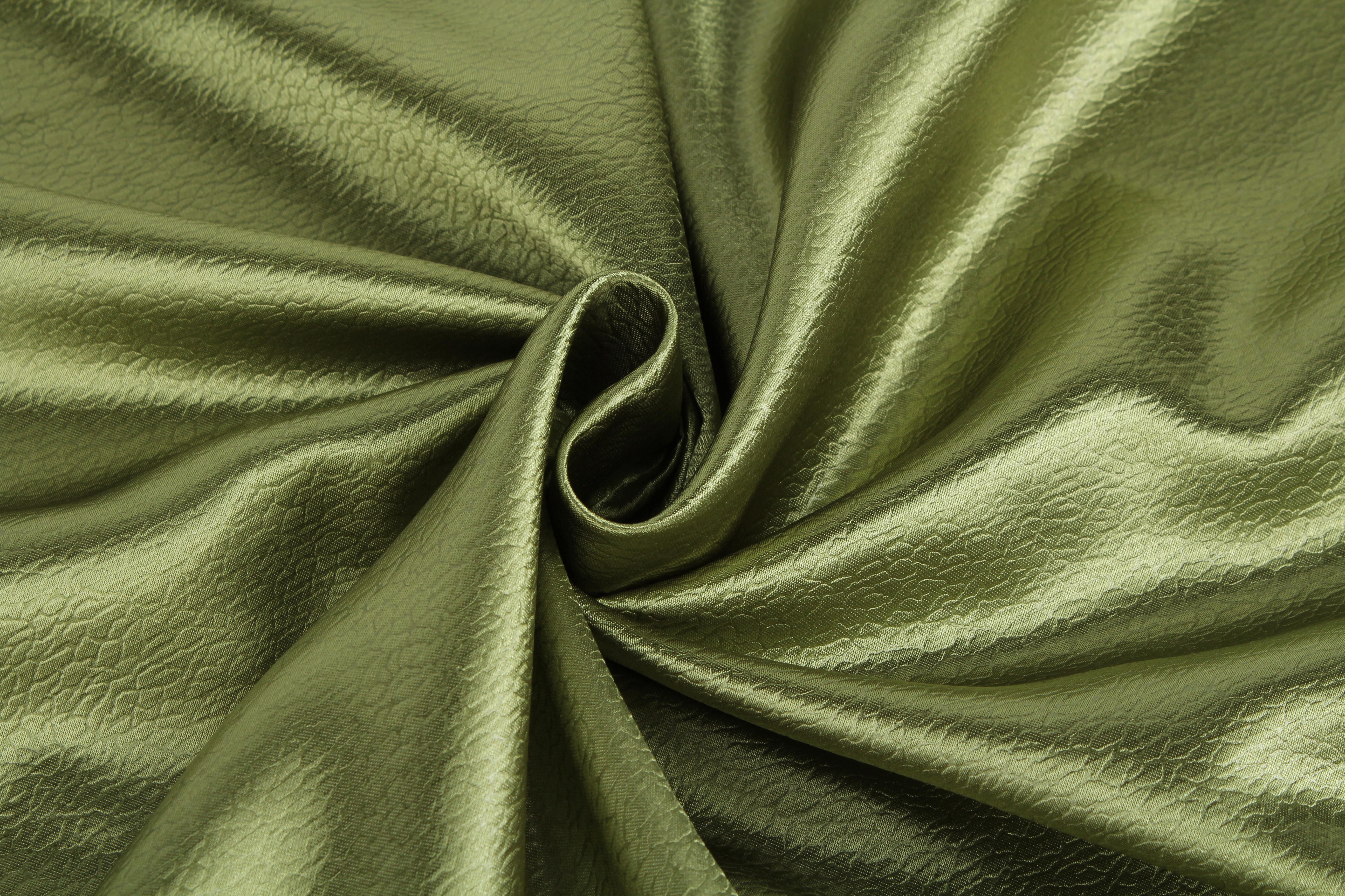 {} TexRepublic Материал Сатен Silk Цвет: Зеленый texrepublic материал бархат wet silk цвет брусника