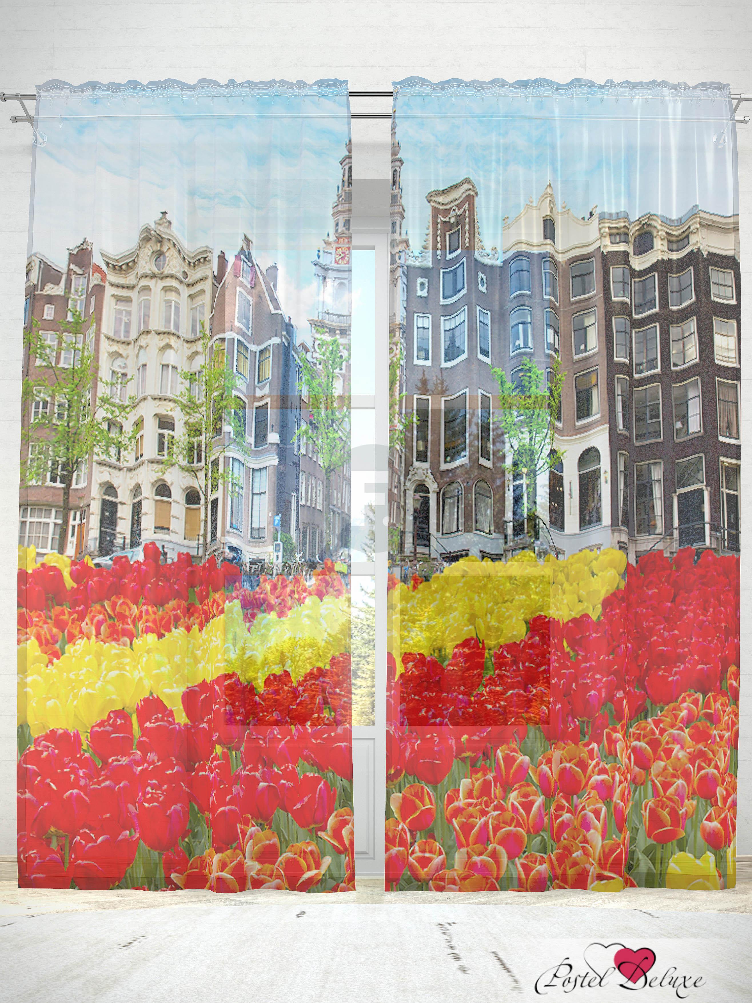 все цены на Шторы Fototende Фототюль Прекрасные тюльпаны