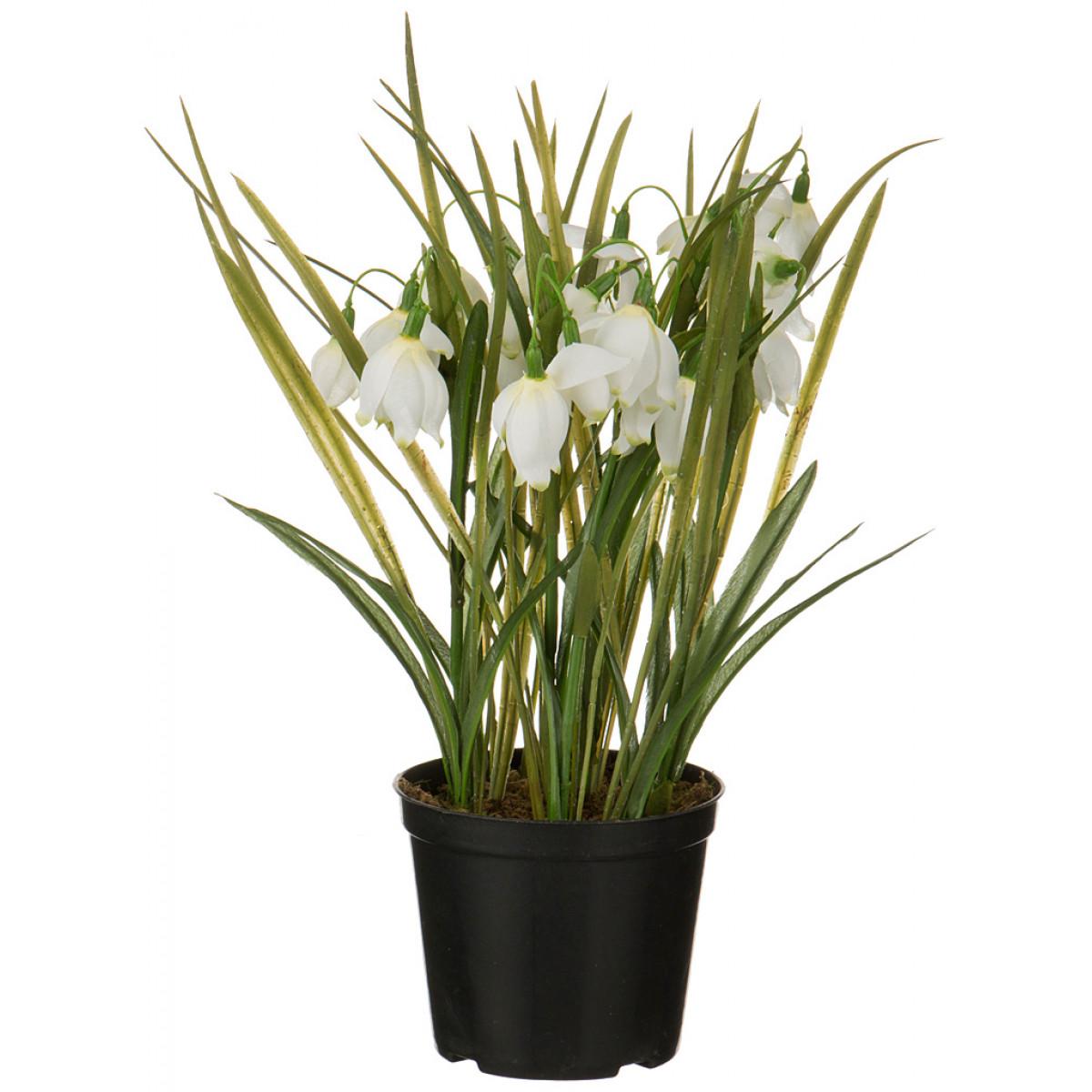 {} SILK-KA Искусственный цветок Avalina  (33 см) silk ka