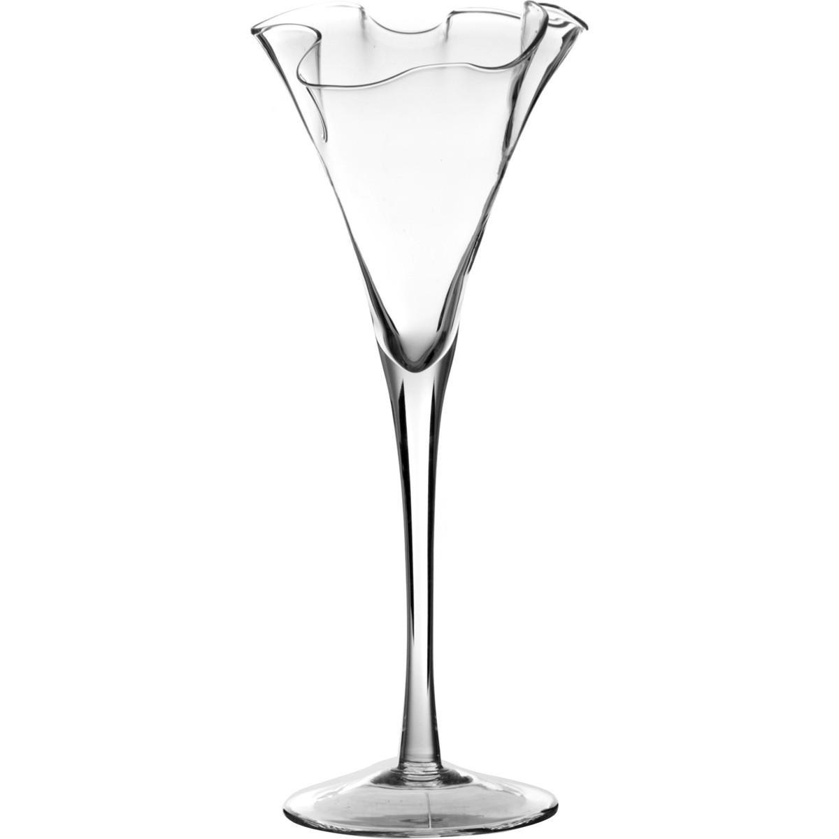{} Wrzesniak Glassworks Ваза Jennie (20х58 см) ваза mughal l 20 х 20 х 30 см