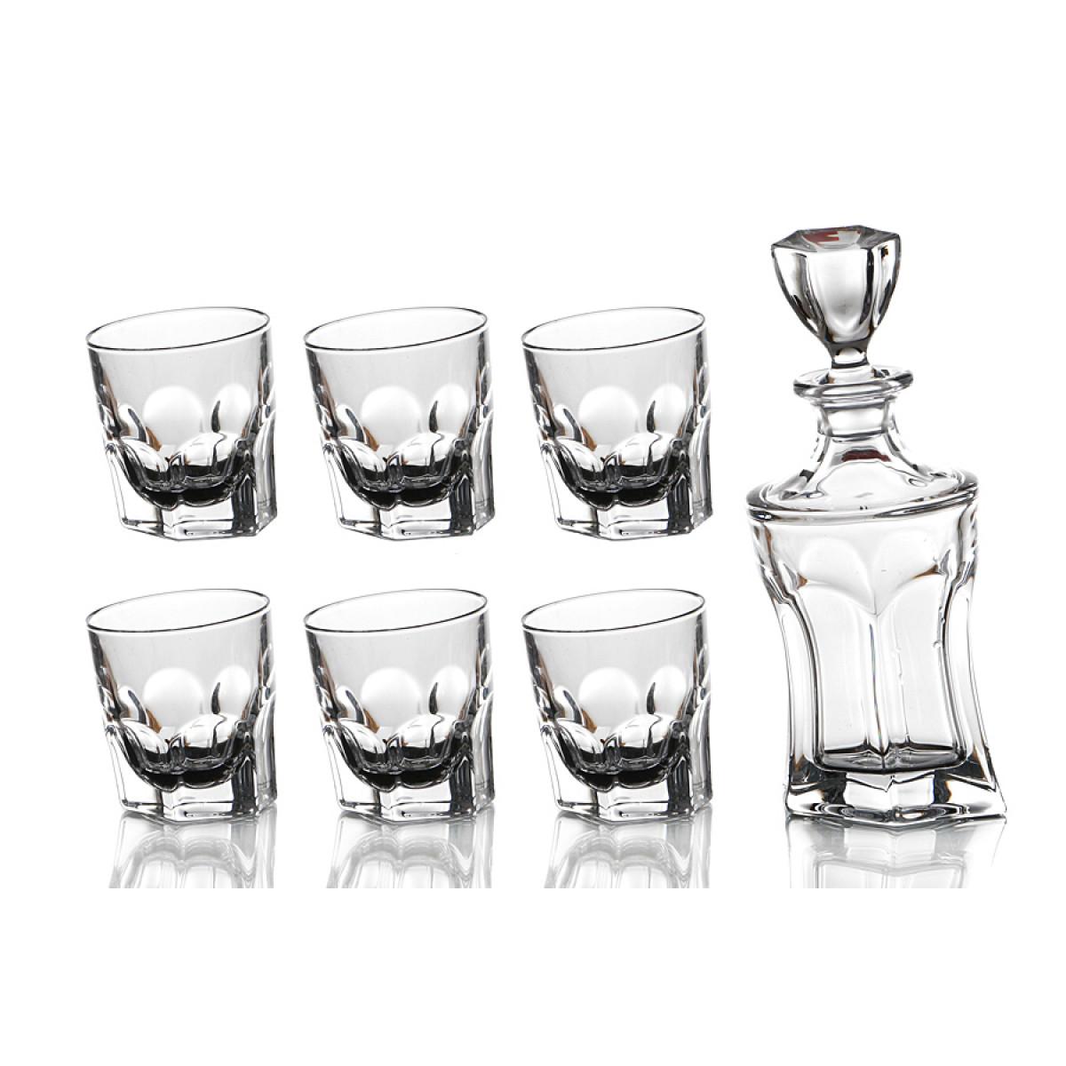 {} Crystalite Bohemia Набор для виски Kev  (Набор) набор для виски 7 предметов bohemia набор для виски 7 предметов