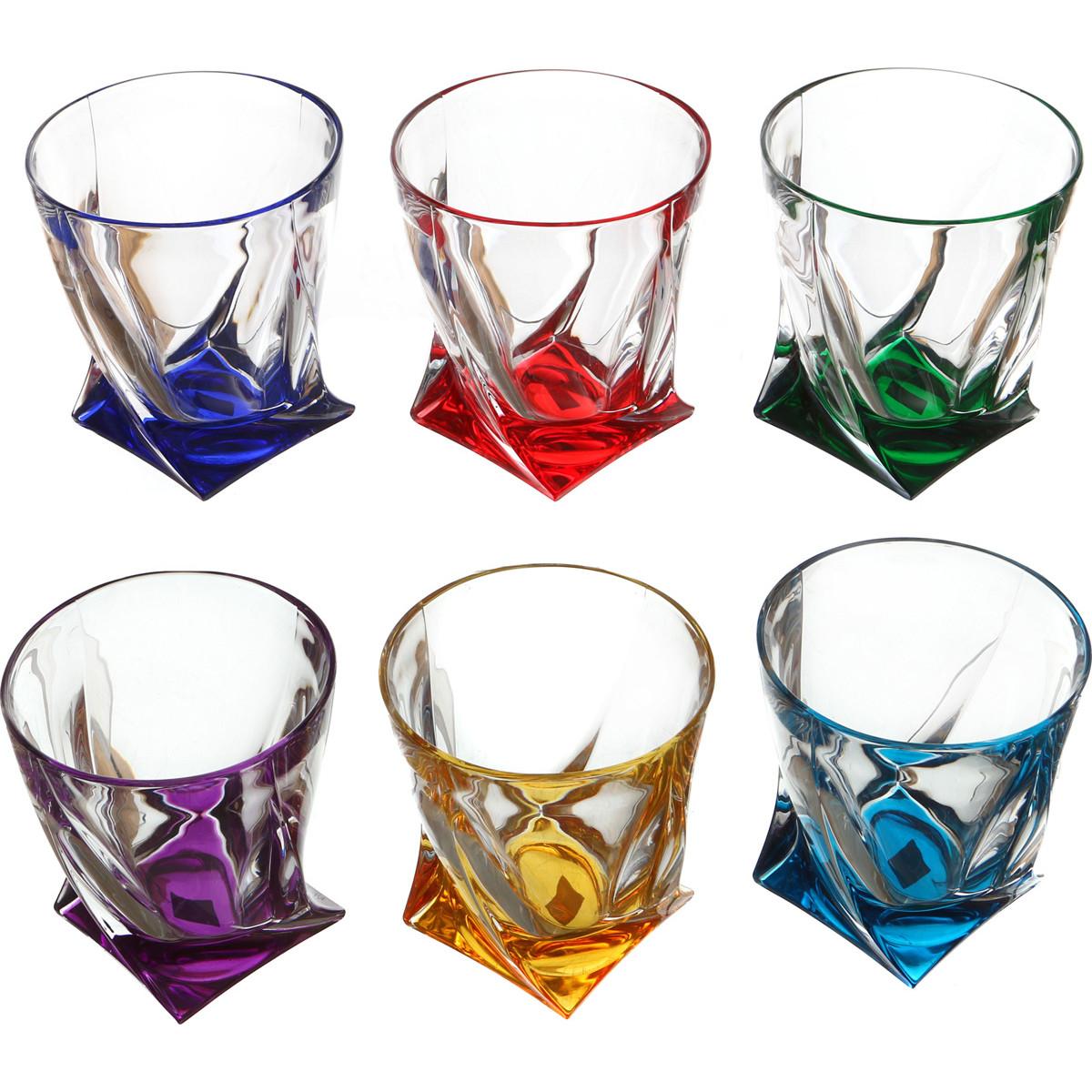 {} Crystalite Bohemia Набор стаканов для виски Cairo (10 см - 6 шт) crystalite bohemia набор для виски lewin набор