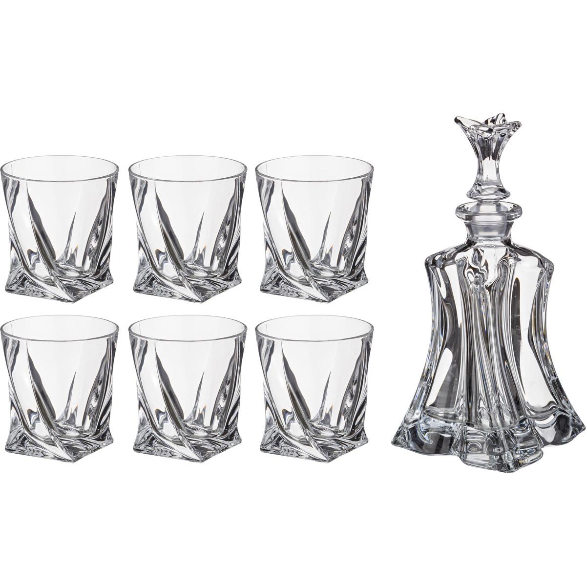 {} Crystalite Bohemia Набор для виски Lewin (Набор) набор стаканов rcr адажио 400 мл 6 шт