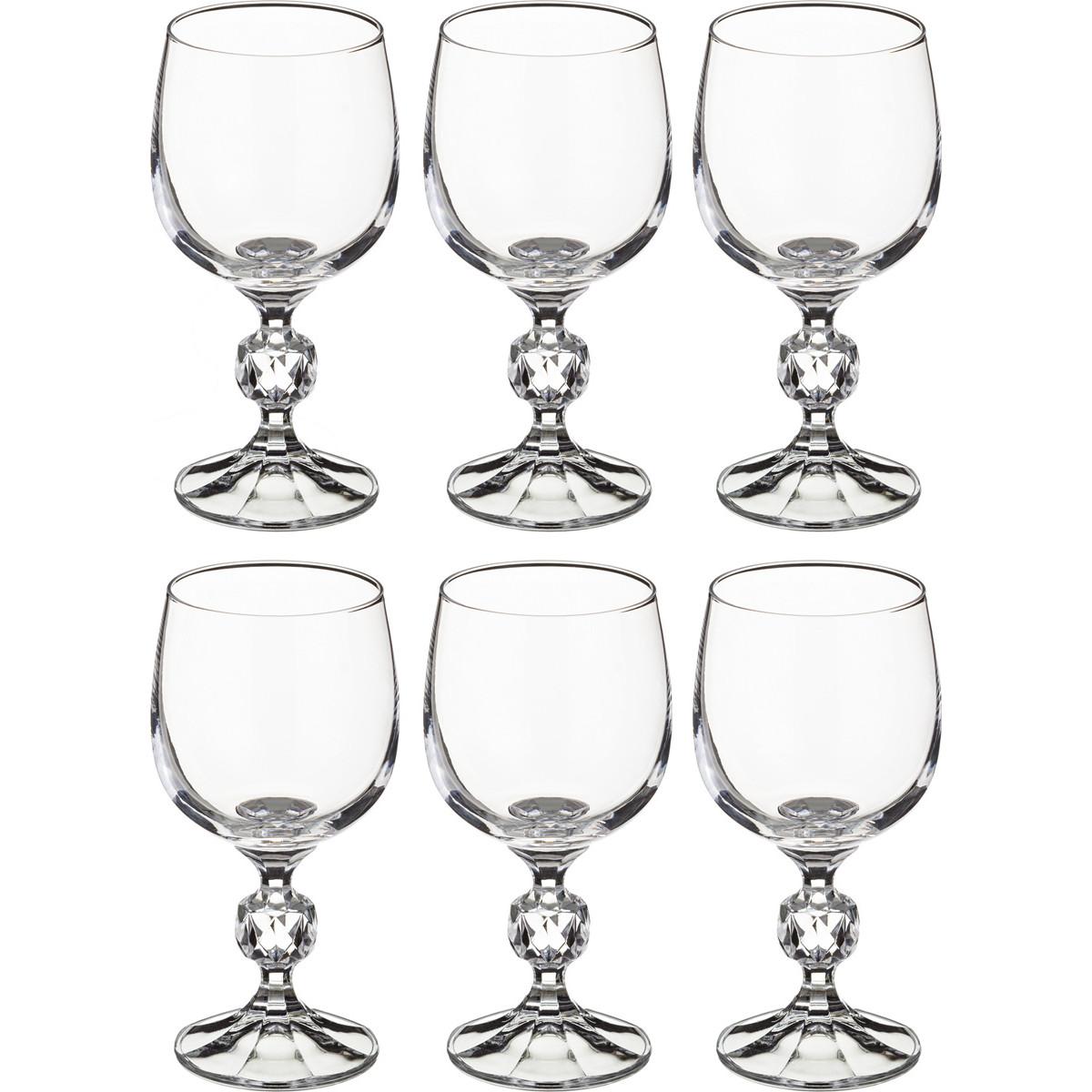 {} Crystalite Bohemia Набор бокалов для вина Joahaz (15 см - 6 шт) набор бокалов для бренди 6 шт crystalite bohemia набор бокалов для бренди 6 шт