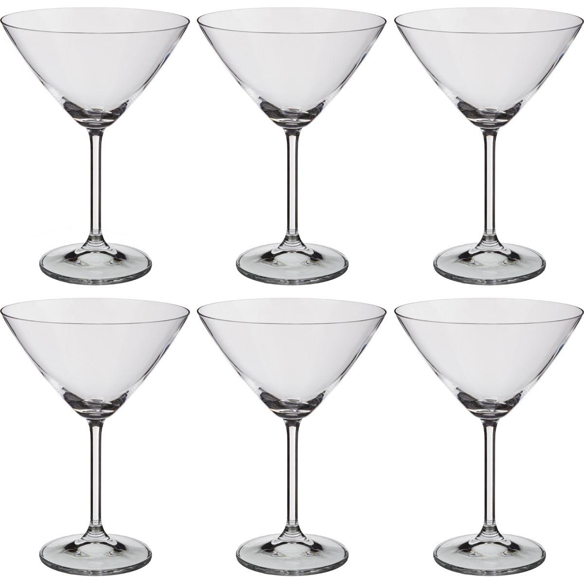 {} Crystalite Bohemia Набор бокалов для коктейлей Joab (18 см - 6 шт) набор бокалов для бренди 6 шт crystalite bohemia набор бокалов для бренди 6 шт