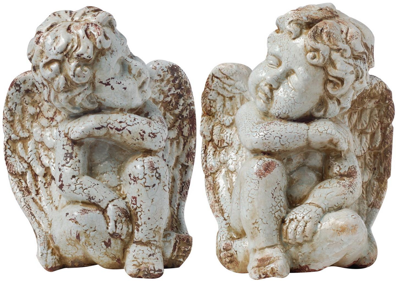 {} ARTEVALUCE Набор статуэток Ангелы (22х25х33 см - 2 шт) artevaluce статуэтка филин 12х12х15 см 2 шт