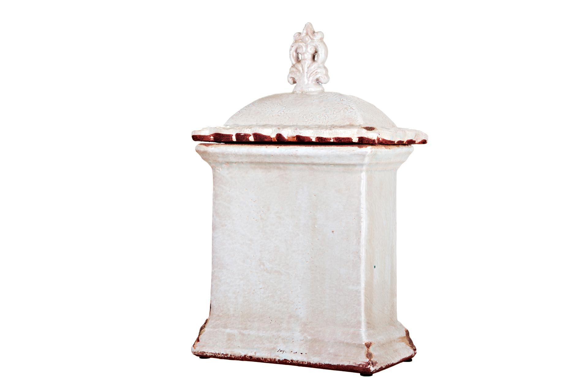 {} ARTEVALUCE Ваза с крышкой Claribel (14х25х43 см) artevaluce ваза с крышкой orlenda цвет зеленый 11х17х51 см