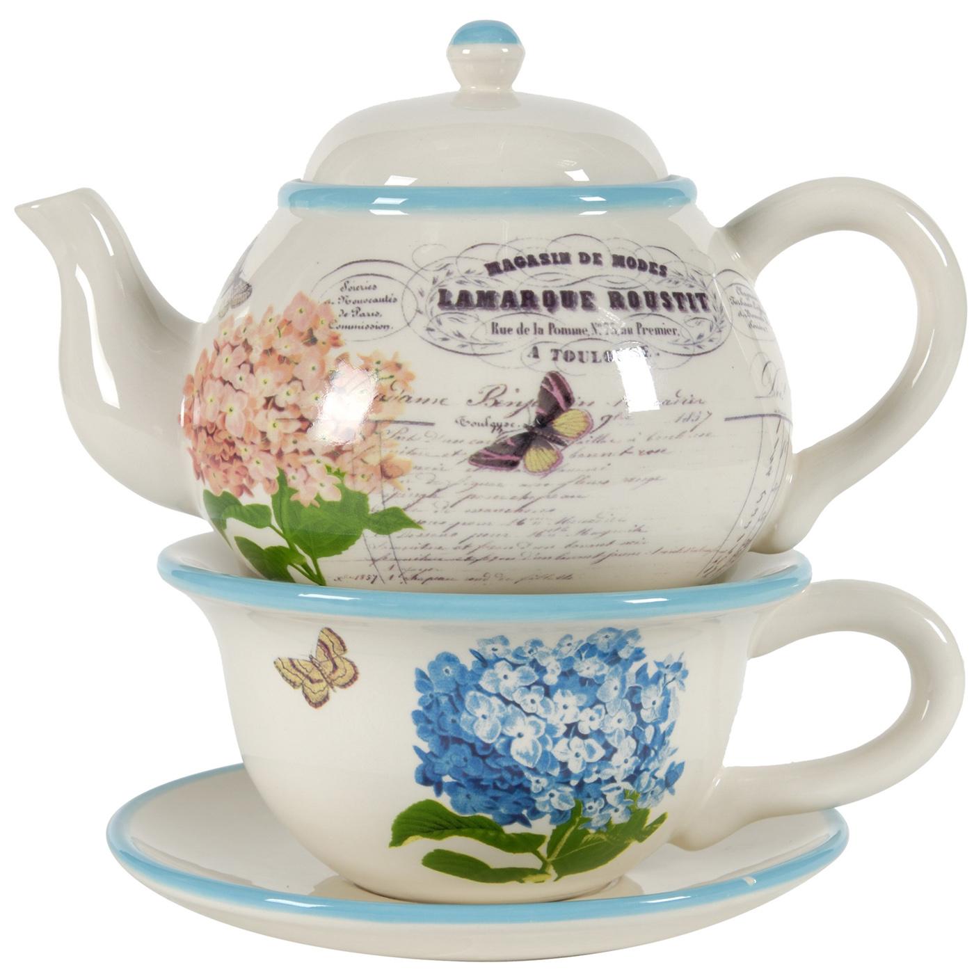{} ARTEVALUCE Чайный сервиз Interia (Набор) creative набор для творчества украшаем чайный сервиз