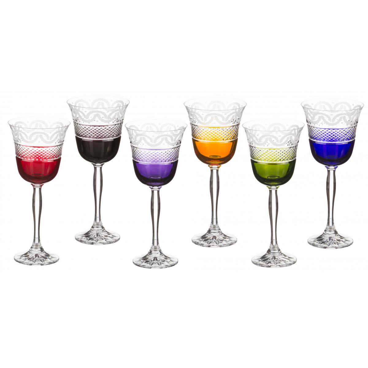 {} Julia Crystal Набор бокалов для вина Graham  (220 мл - 6 шт)