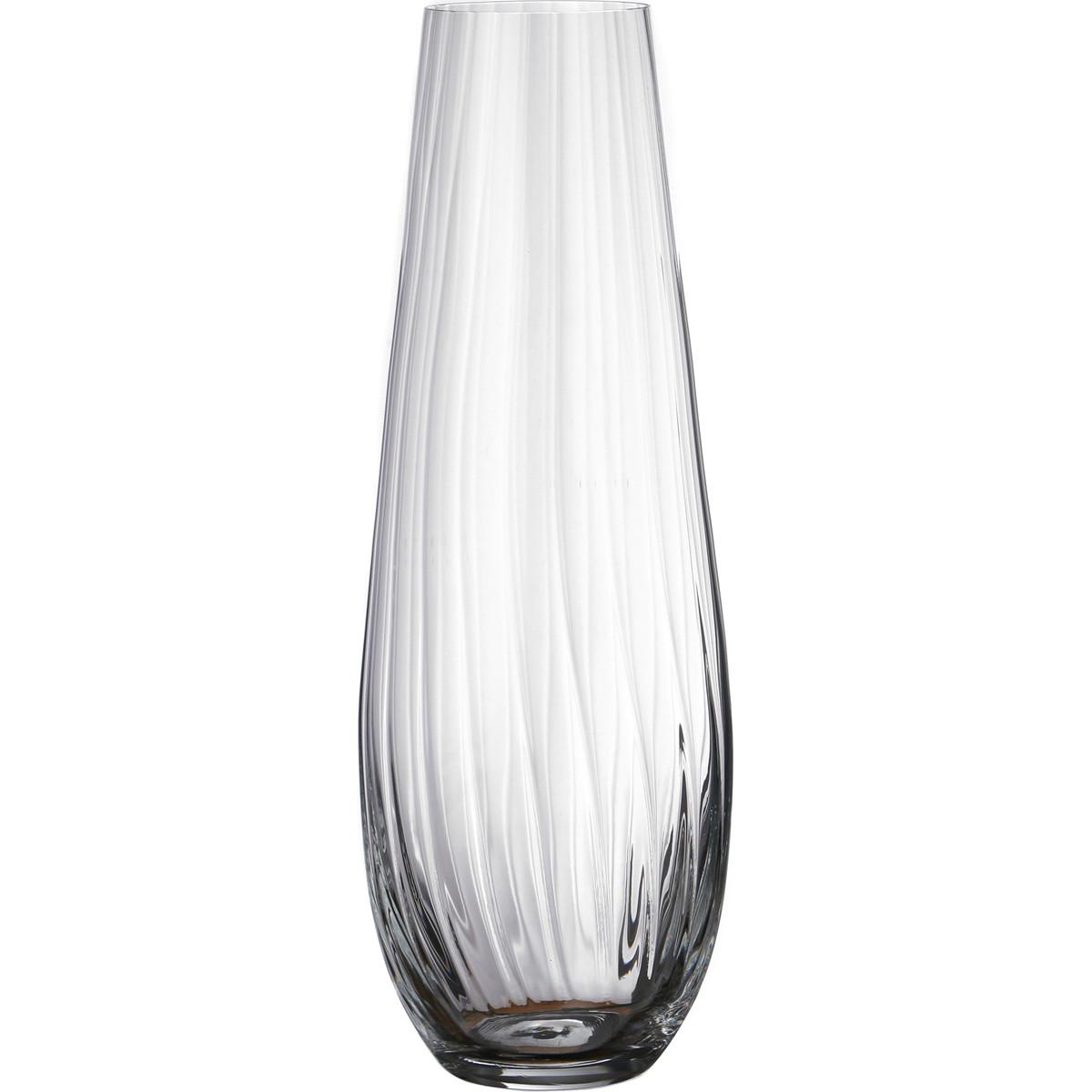 {} Bohemia Crystal Ваза Burgundy  (34 см) crystal bohemia
